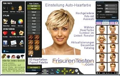 Frisuren frauen online – Mittellange haare
